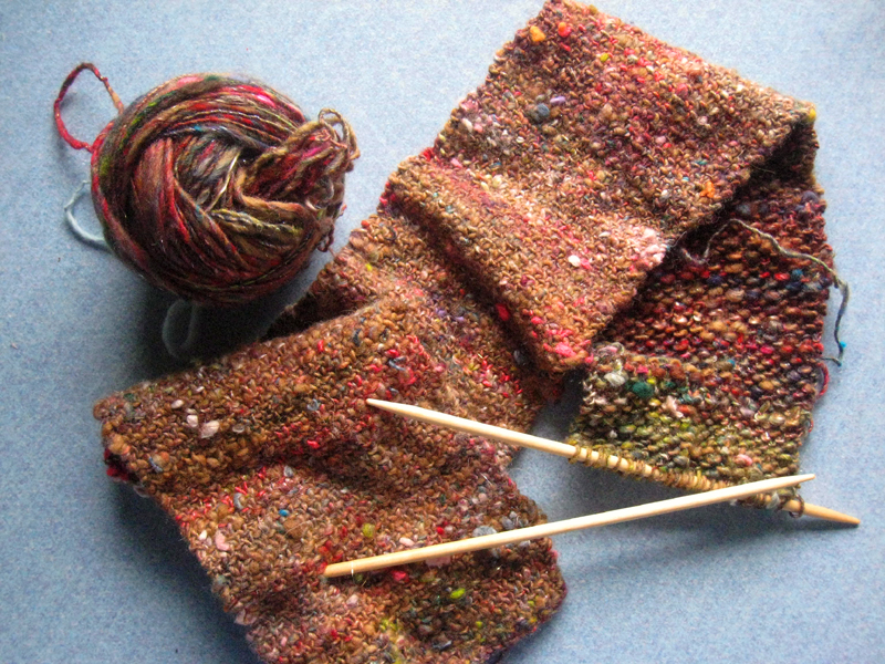 Pie crust knitting