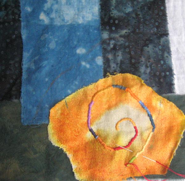 Sun wrap stitch